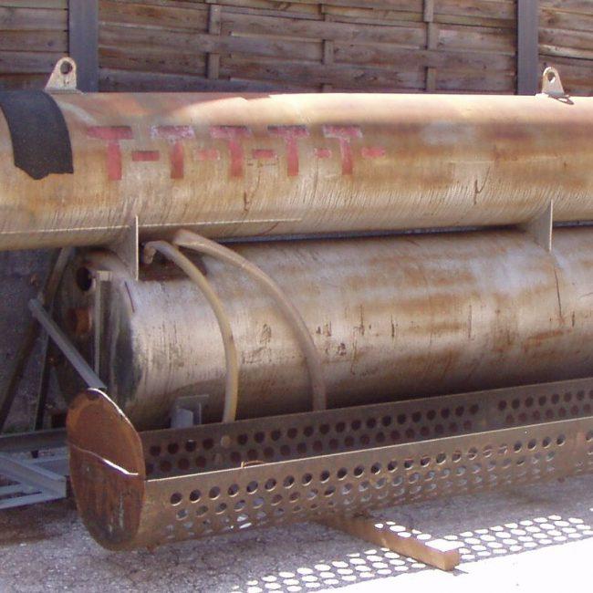 Biocopol 2. Recupero di un impianto industriale per l'impregnazione del legno (2014-2017)