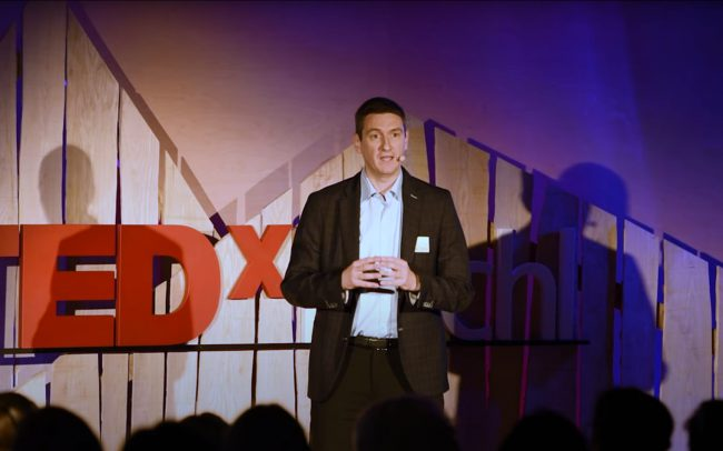 TEDx Kuchl – Future needs confidence (2019) Gianluca Tondi